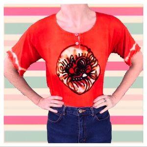 Tops - Vintage Chakra Bali Dragon Shirt
